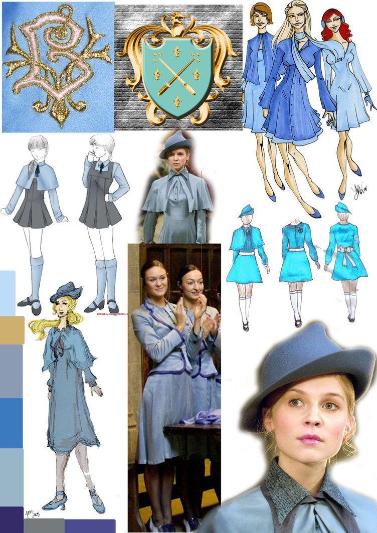 beauxbatons uniform by swanofswansea   Harry Potter party   Harry ...