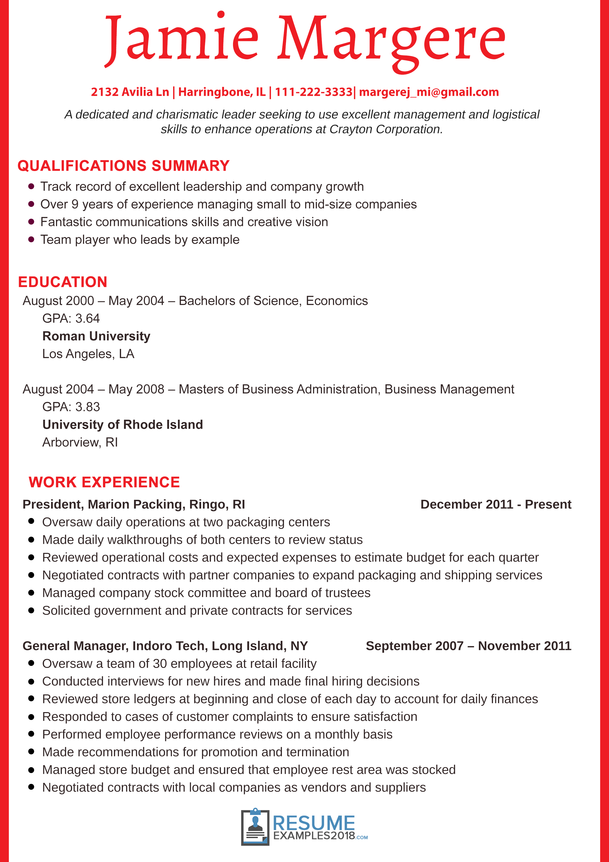 Resume Examples 2018 For Students Resume Templates Teacher Resume Examples Resume Examples Basic Resume Examples