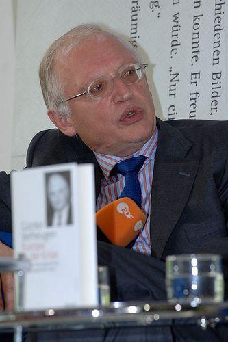 Günter Verheugen im Gespräch mit Wolfgang Herles
