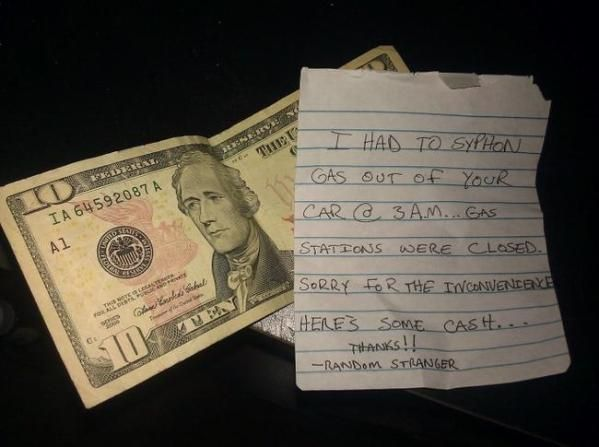 These Strangers Left The Best Notes Ever...And You'll Want To Punch Them For It.