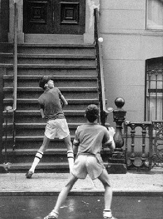 Stoop ball | Brooklyn U.S.A. | Street game, Ny ny, New ...