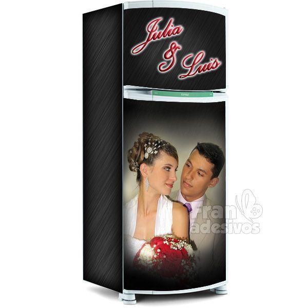 Adesivo De Parede Sjc ~ Envelopamento de geladeira, adesivo para geladeira inteira, envelopar geladeira, adesivos para