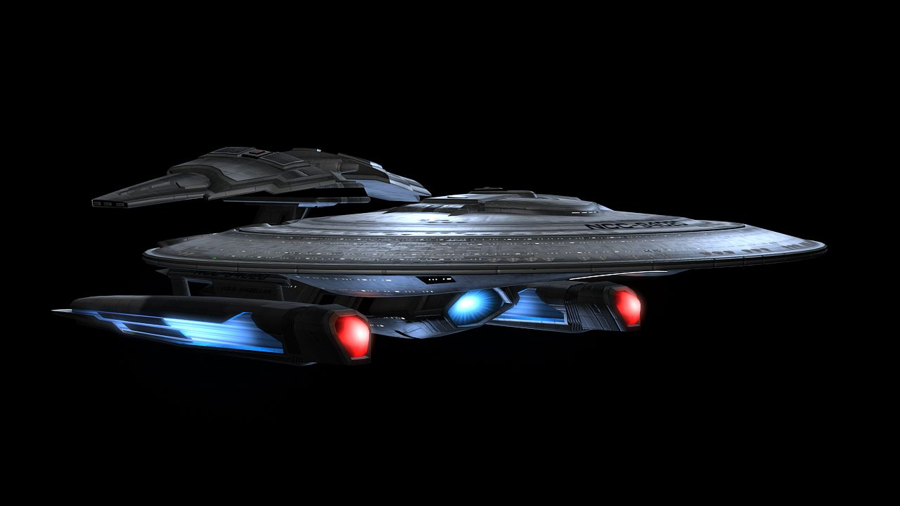 Adam Williams - 3d Artist: Star Trek Online: Ships of the Line Updated Nebula Class ship?