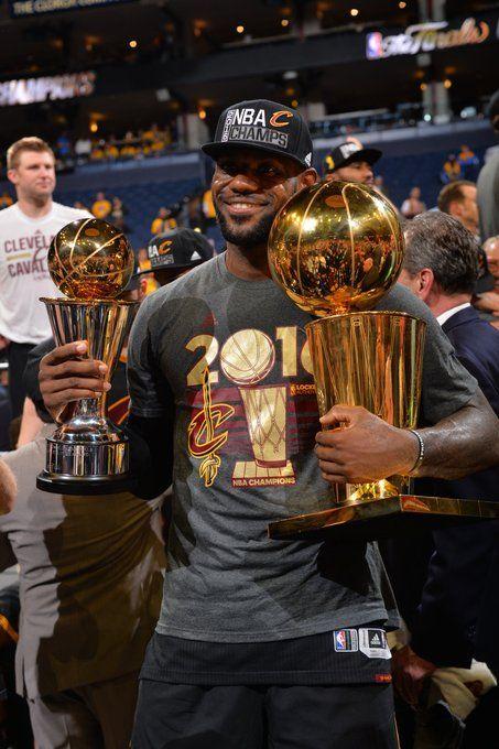 26bc844772c3 LeBron James wins his 3rd Finals MVP trophy.