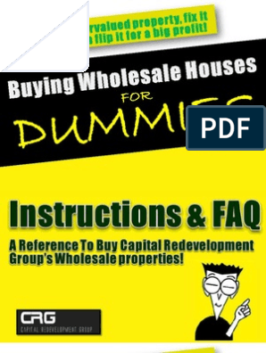 Flipping Houses For Dummies PDF Free Download