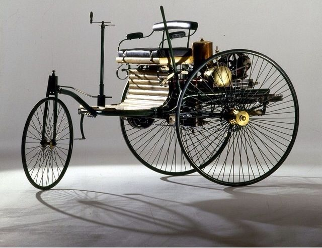 First Car Ever The Benz Patent Motorwagon Number 1 Built In 1885 By Mercedes