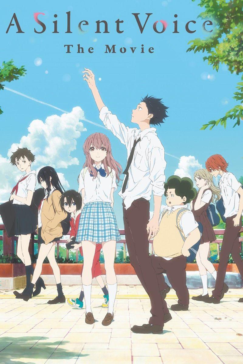 A Silent Voice Blu Ray Dvd Anime Movies Anime Films Voices Movie