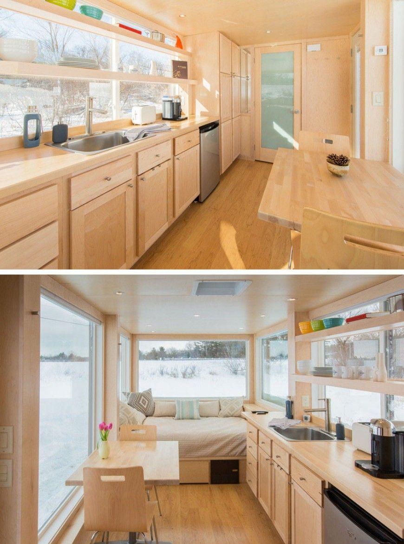 Moderne Küchen, die das Beste aus einem kleinen Raum machen | Küchen ...