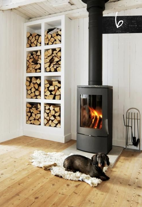 Modern wood burning stoves surroundings corinium the - Living room with wood burning stove ...