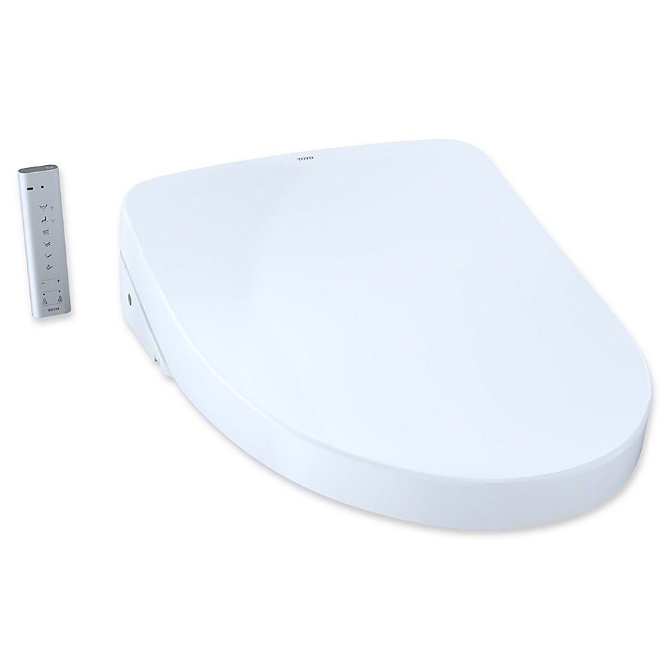 Toto Washlet S500e Elongated Bidet Toilet Seat With Contemporary