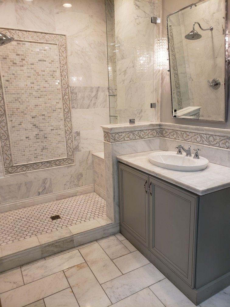 Pin By Kathy Mcdaniel Capretta On Bathroom Reno Marble Tile Bathroom White Marble Bathrooms Marble Bathroom