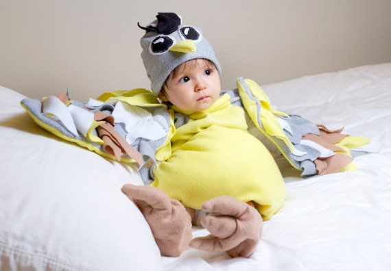 Baby Bird Costume - Bird Costume - Kidu0027s Costume - Childu0027s Halloween Costume - Infant Halloween Costume - Baby Halloween Costume  sc 1 th 187 & Baby Bird Costume - Bird Costume - Kidu0027s Costume - Childu0027s Halloween ...