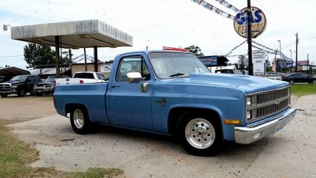 81 Chevy C10 Pickup  Twin Turbocharged  383 Stroker  T350 W  Shift Kit  Fast    For Sale  Photos