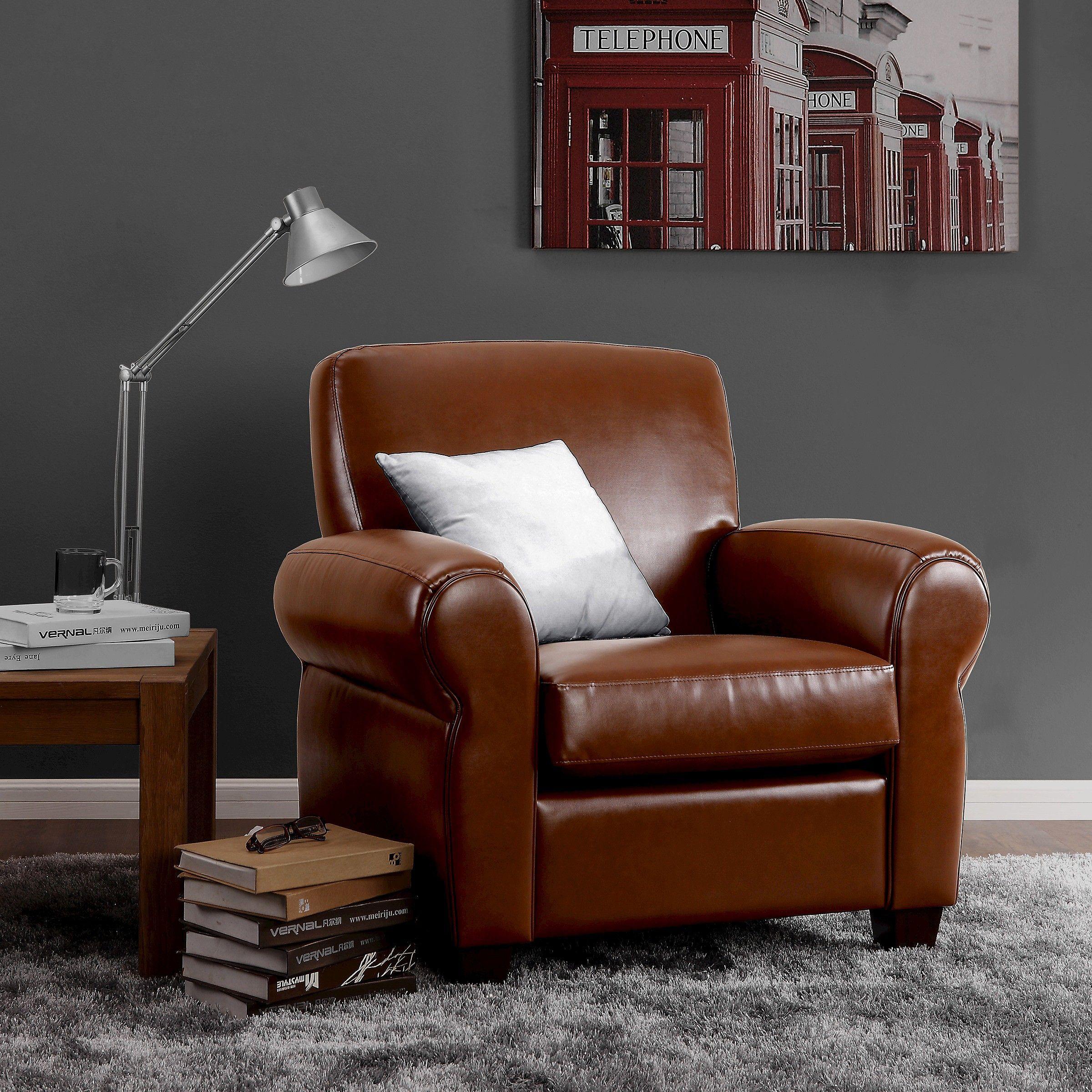Cigar Arm Club Chair Target