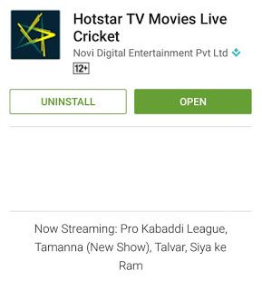 Hotstar download for pc Download app, Online video