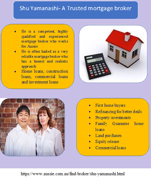 Shu Yamanashi Professionals Mortgage Broker Hold The Right