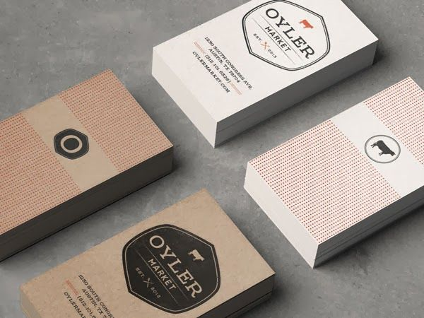 Business card design ideas packaging design food pinterest 20 effective restaurant business card design ideas jayce o yesta graphic design inspiration colourmoves Images