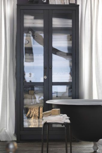 ikea sterreich inspiration schlafzimmer hemnes vitrinenschrank interior pinterest. Black Bedroom Furniture Sets. Home Design Ideas