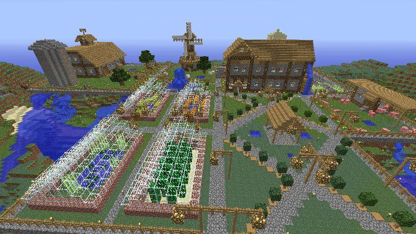Minecraft Farming Google Search Minecraft Pinterest