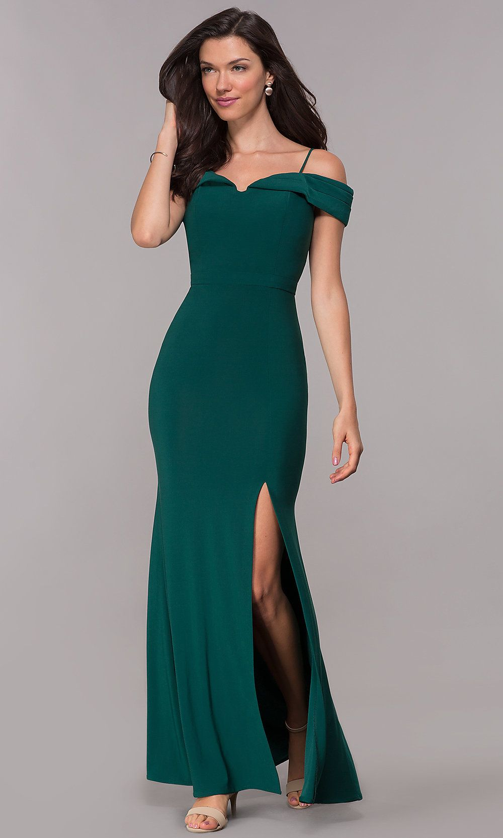 Wedding Guest Long Formal Off The Shoulder Dress Formal Wedding Guest Dress Guest Dresses Dresses To Wear To A Wedding [ 1666 x 1000 Pixel ]