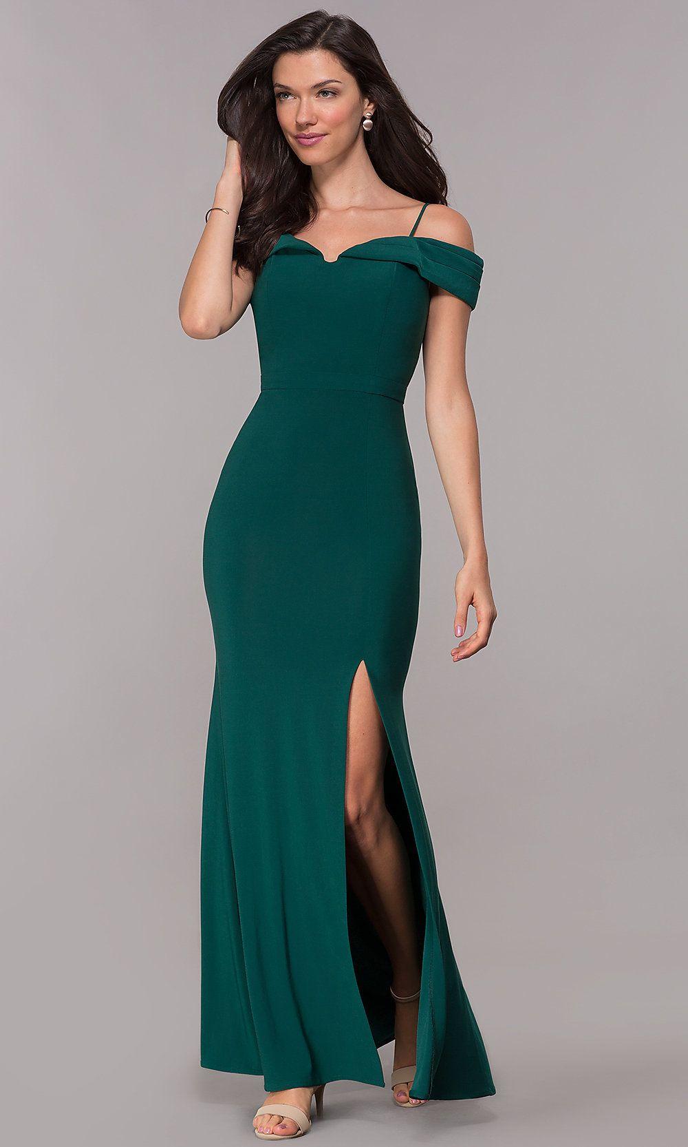Formal Off The Shoulder Dress