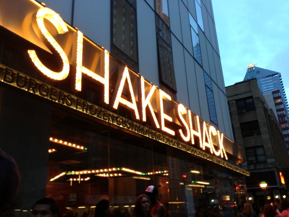 Shake Shack in New York, NY   New York   Pinterest