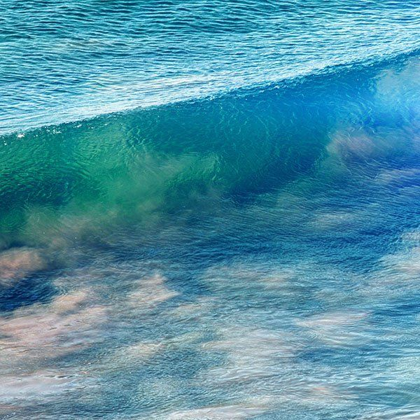 Wallpaper Nb70 Sea Wave Nature Ocean Summer Fun Blue Sea Waves