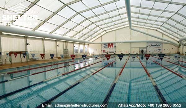 54 SHELTER Polygonal Tent - Swimming Pool Enclosures ...