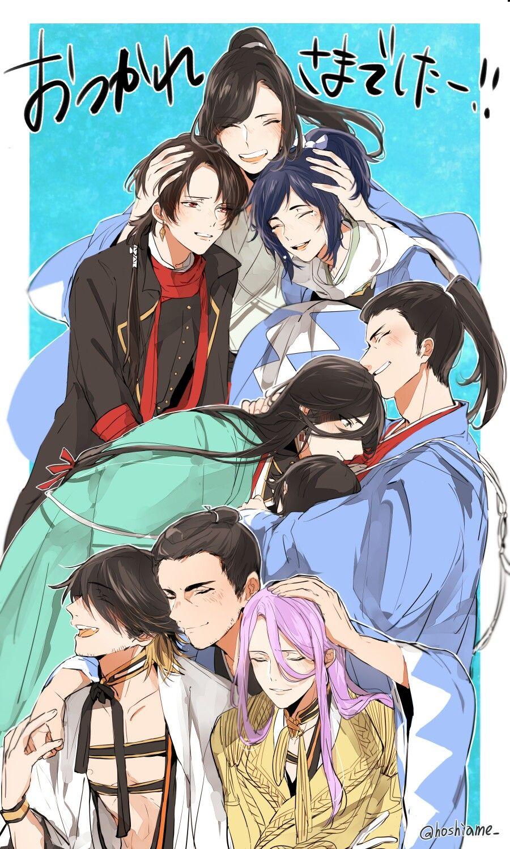 203 Best 新撰組 Images Touken Ranbu Anime Manga