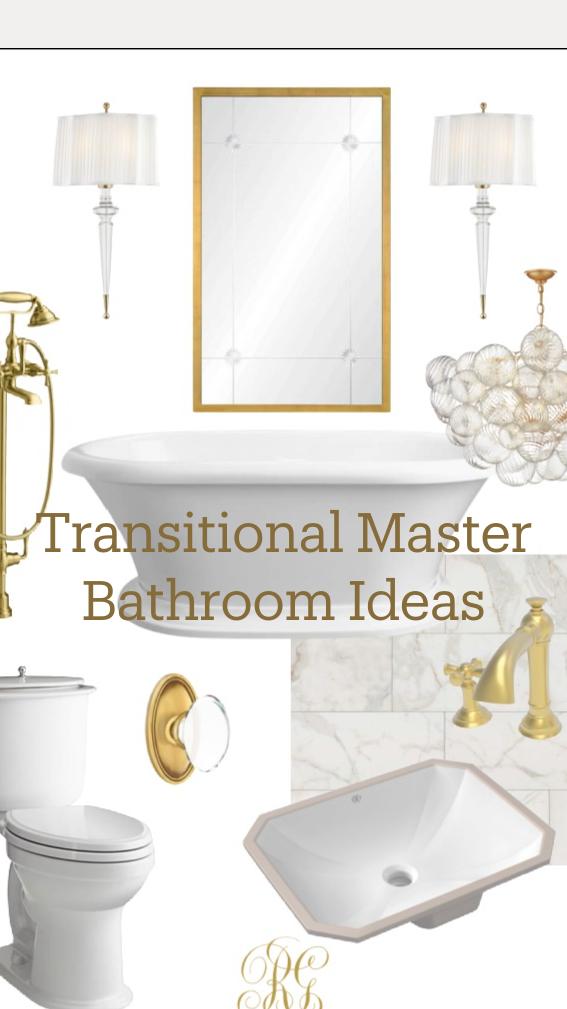 Photo of Transitional Master Bathroom Ideas