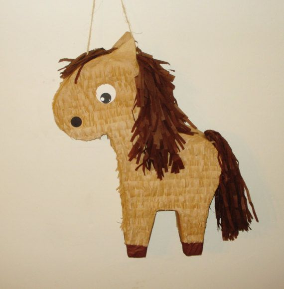 Horse Pinata. Farm Animal pinata. by themodernpinata on Etsy