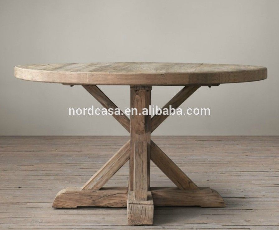 Chinese Antique Furniture Solid Wood Round Dining Table Buy Wood