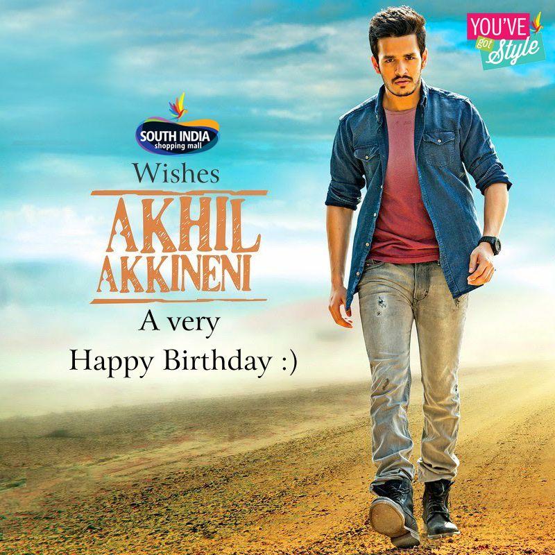 Akhil Akkineni Birthday Date