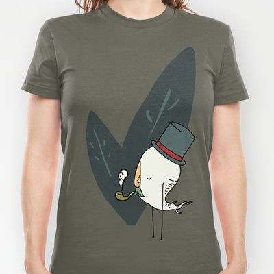 check out my friend's sweet art!   Fancy Root T-shirt by Drew Grella