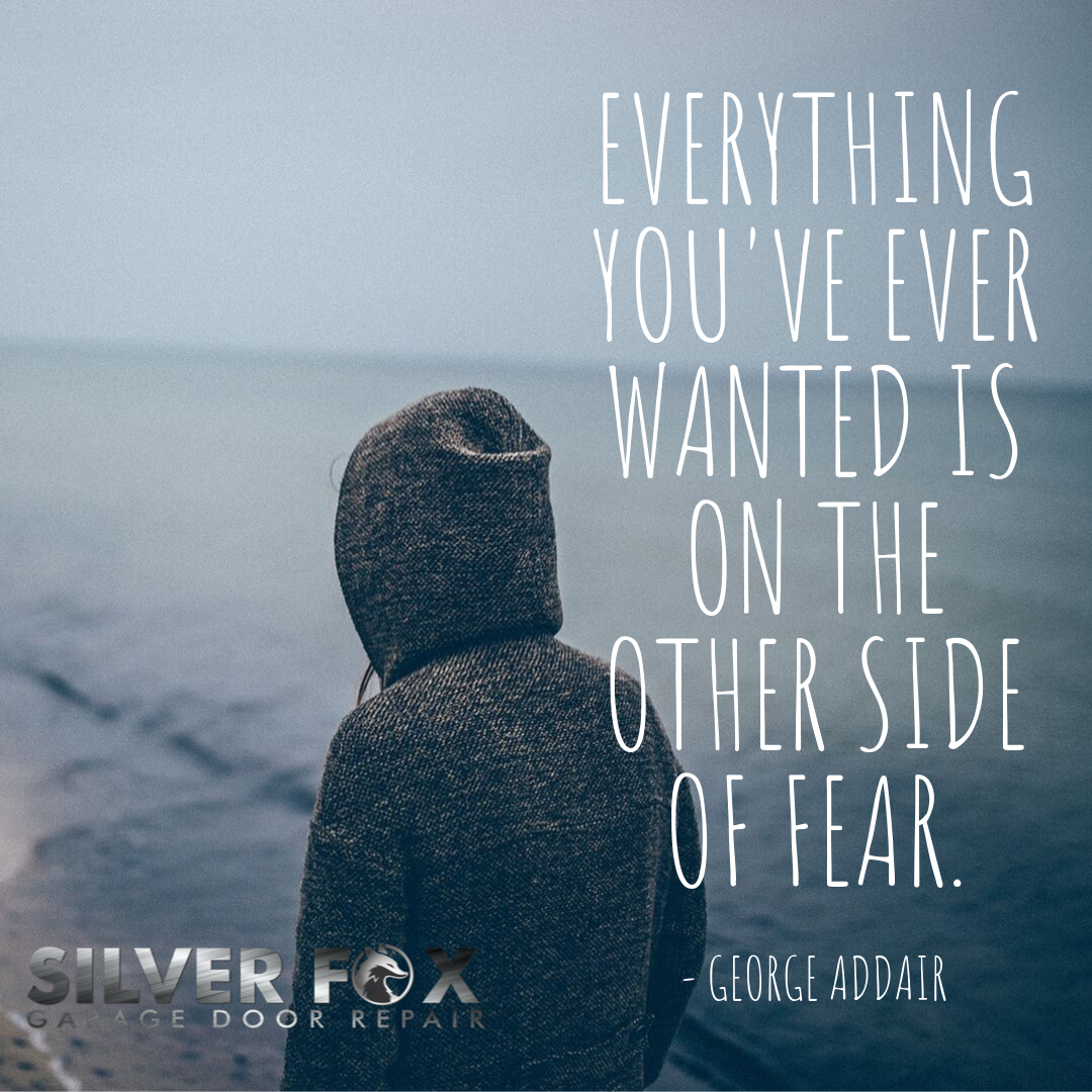 """""""Everything you want is on the other side of fear.""""   #mondaymotivation #monday #motivation #mondaym..."""