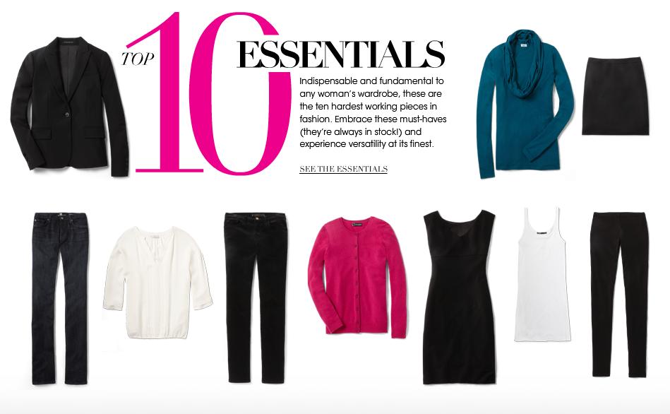 Minimalist wardrobe for women over 50 wardrobe for Minimalist essentials