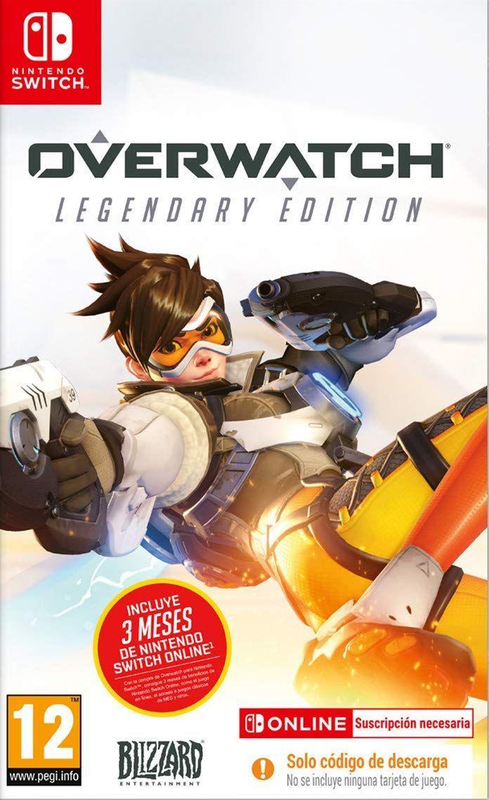 Overwatch Legendary Edition Este Juego Contiene Código De Des Juegos Nintendo Overwatch Videojuegos Clásicos