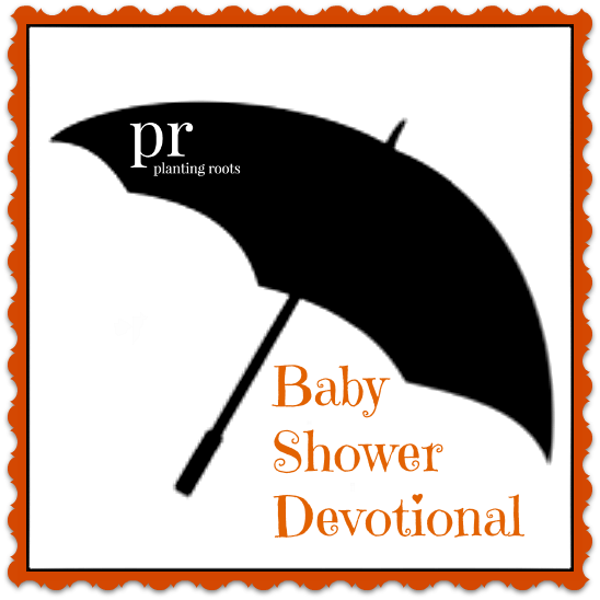 andrea plotner shares a good idea for a baby shower devotional, Baby shower