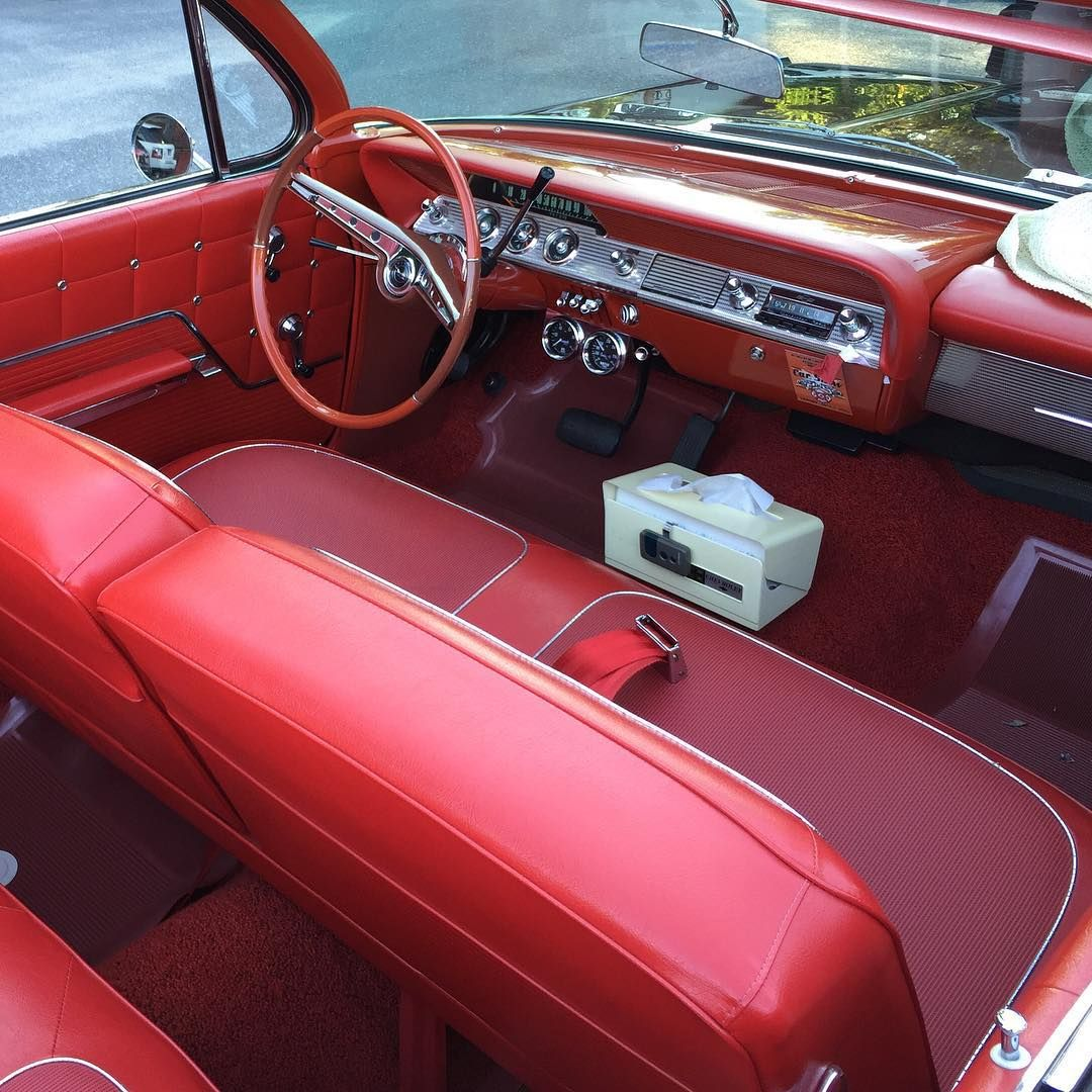 Red Interior Old Cars Are So Much More Interesting Aes Red - Interesting old cars