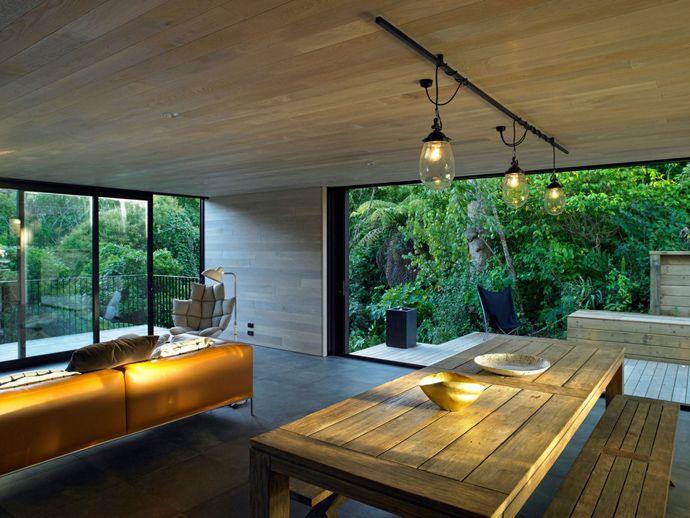 Modern Architecture New Zealand waiatarua househamish monk architecture, auckland, new zealand