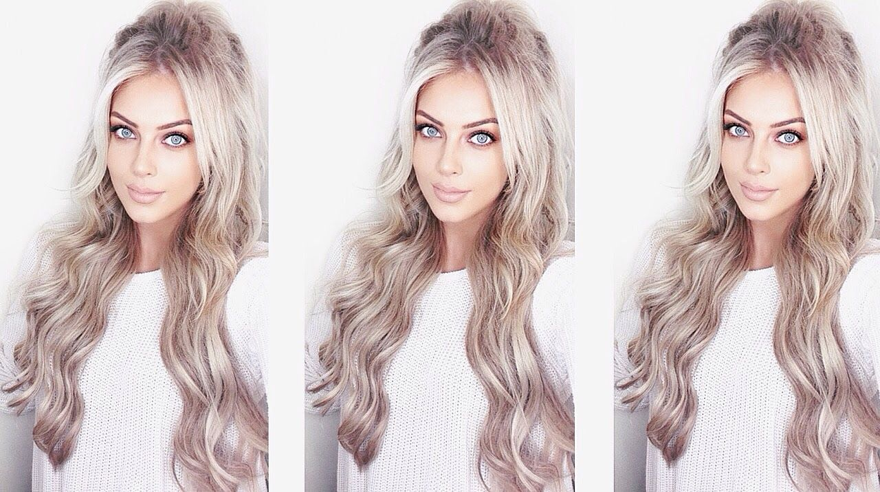 How I Clip Instyle Hair Extensions Ft Foxylocks Chloe Boucher