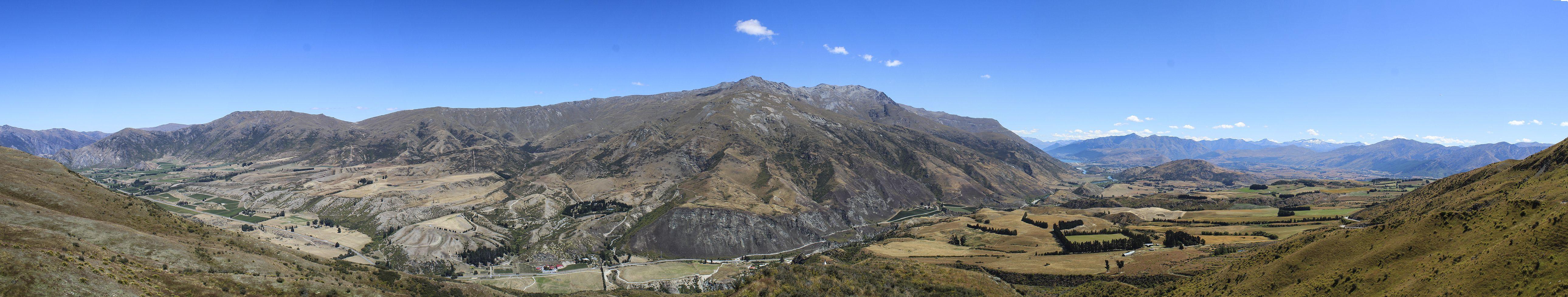 Gibston Valley near Queenstown New Zealand