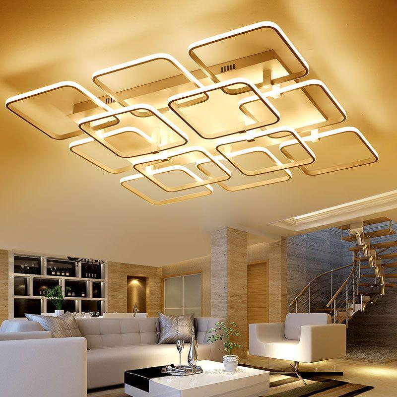 Modern LED Ceiling Light Creative Living Room Bedroom Ceiling Lamp - deckenleuchte led wohnzimmer