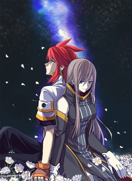 Tales of the Abyss-Luke and Tear