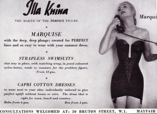 Illa Knina Corselette - The Strapless Marquise With Deep Plunge
