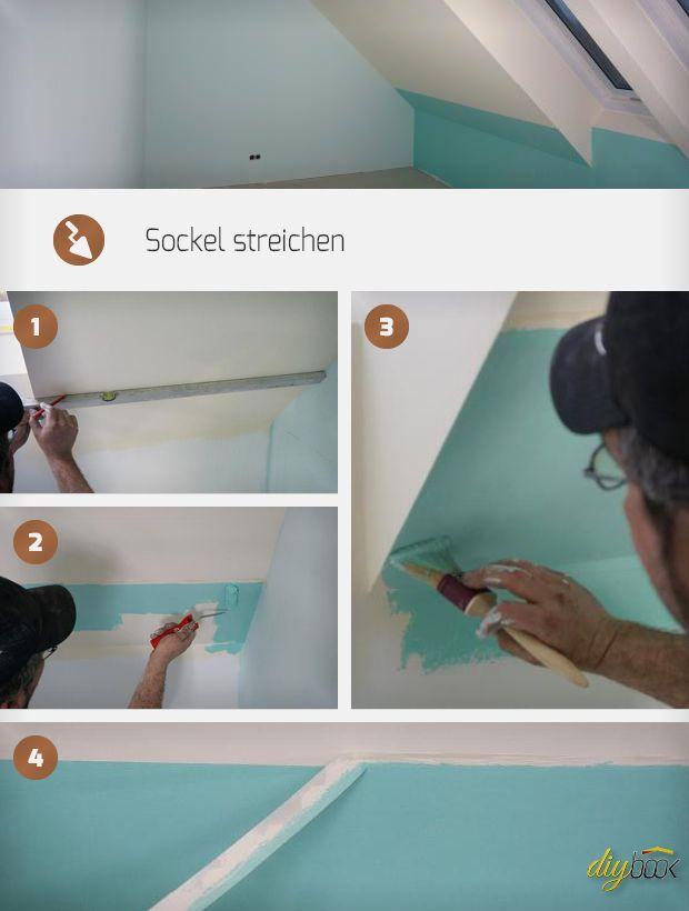 streichen abkleben grafische formen an die wand schenkt dem zimmer eine frische note und so. Black Bedroom Furniture Sets. Home Design Ideas
