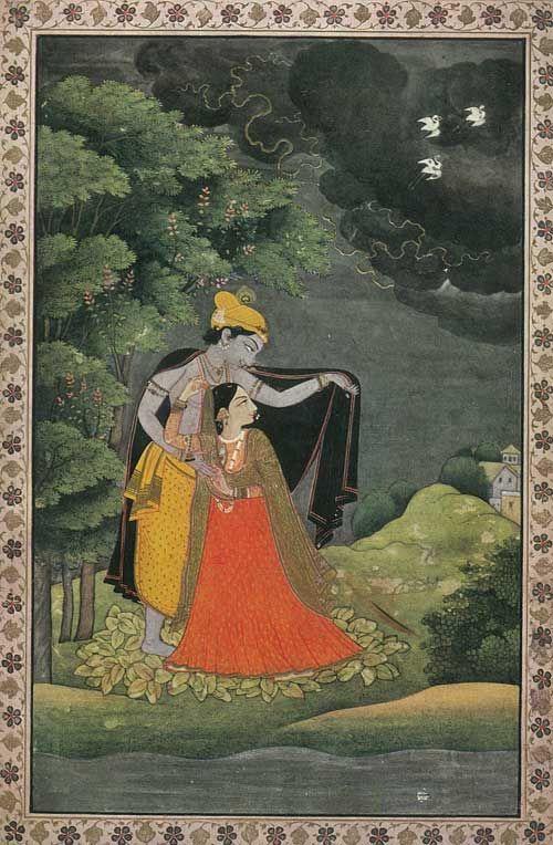 Kangra painting   Indian paintings, Indian folk art, Hindu art