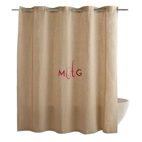 awesome Ballard Design Shower Curtain Part - 10: Image result for ballard designs monogram shower curtain