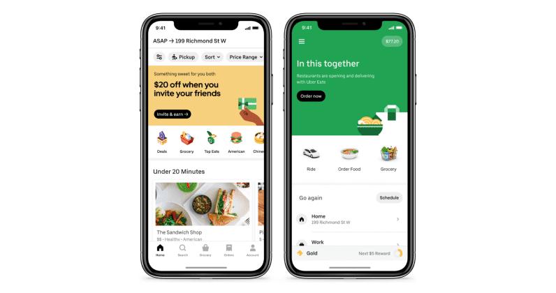 تطلق Uber رسمي ا خدمة توصيل البقالة للمنازل قريبا في الدول العربية أعلنت عملاقة الركوب Uber Delivery Groceries Grocery Delivery Service Grocery Services