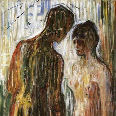 teodozija: Amore e psiche, Edvard Munch, 1907